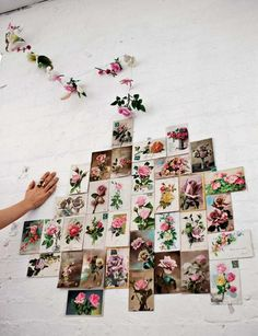 floral wall art grouping