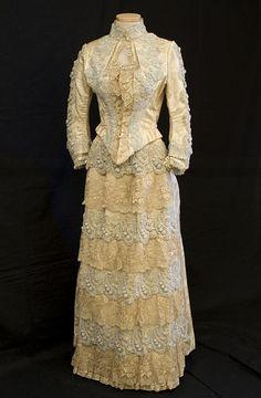 Dress   c. 1880's Vintage Textile
