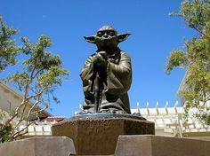 Yoda Statue at the Letterman Digital Arts Center in Presidio, San Francisco