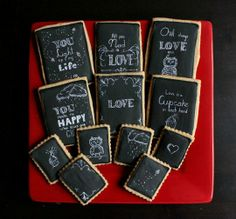 Two for One!  Turn Your Cookies Into Holiday Cards