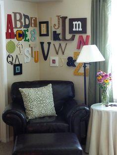 fun alphabet wall