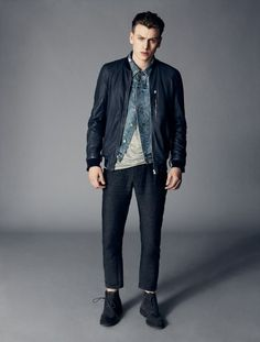 AllSaints Menswear: September 2013 Collection