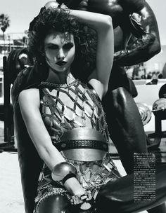 Karlie Kloss Gets a Workout for Vogue Japans September Cover Shoot