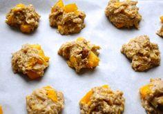 peach cobbler drop cookies