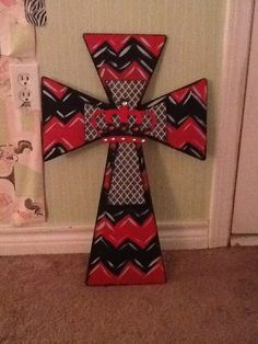 My DIY cross, it's my first one I've ever made :)