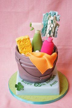 Spring Cleaning Cake   - http://dessertideaslove.com/dessert/spring-cleaning-cake.html
