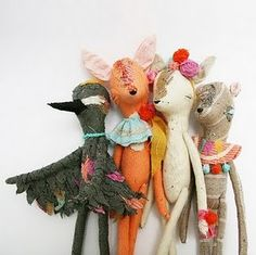 handmade dolls by Abigail Brown