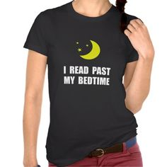 Read Past Bedtime T-shirt