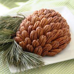 cranberry cream cheese pine cone