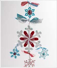 Snowflake Door Hanging http://www.plaidonline.com/snowflake-door-hanging-or-mobile/3926/project.htm