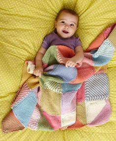 Multicolor Baby Throw