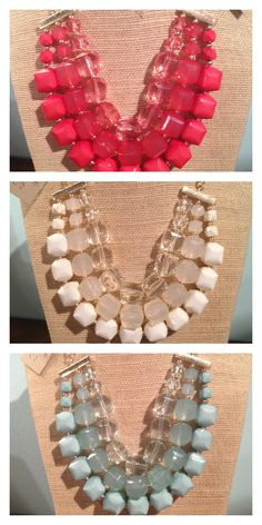 New necklaces!