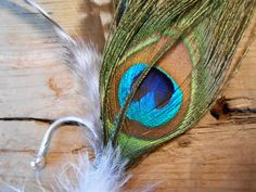 The GREAT GATSBY PEACOCK Collection.Tie Fly Boutonniere by TieFly, $34.99