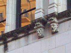 I miss seeing faces on buildings!  Time to travel!