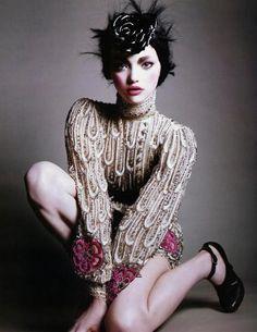 looks like Gemma Ward, but is it her?