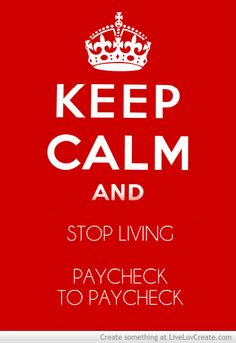 10 Steps To Stop Living Paycheck To Paycheck #budget #saving #inspiration