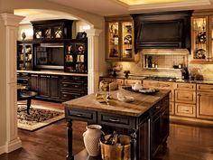 Kitchen, Classically Traditional, Photo 74 - KraftMaid Photo Gallery
