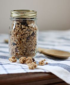 Coconut granola is super easy, yummy and healthy.  Made with real maple syrup and coconut oil.