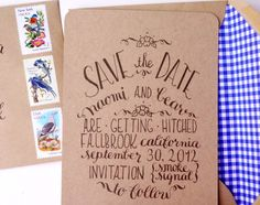 Country Chic Save The Date