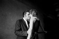 ELVIS, The Kiss. By music photographer Alfred Wertheimer (1956)