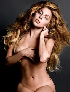 Lady Gaga al natural...