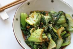 Delicious stir-friend ginger bokchoy recipe