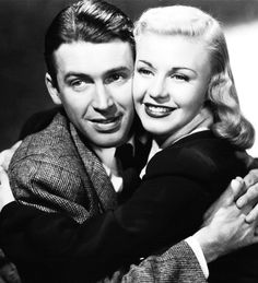 James Stewart and Ginger Rogers in Vivacious Lady