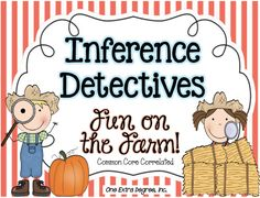 One Extra Degree: Inference Detectives: Fun on the Farm! {Rule-Breaker!}  Common Core Inferencing Fun!