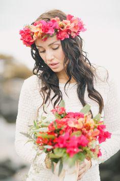 Tropical Hawaiian Bridal Inspiration | WarmPhoto Photography | Bridal Musings Wedding Blog 17
