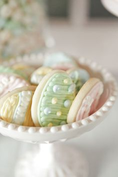Pastel Decorated Cookies :)
