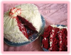 Southern Red Velvet Cake - my great aunt's recipe