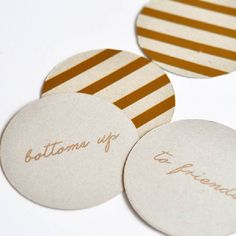 Create these fun and glitzy coasters using this free cut file. Add some glam to your party!