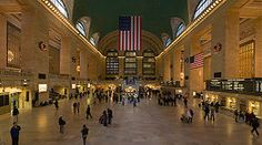 Grand Central Station Main Concourse - New York City