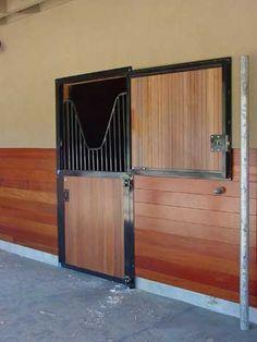 IES square top Dutch door with optional yoke