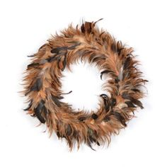 I love Feather Wreaths!