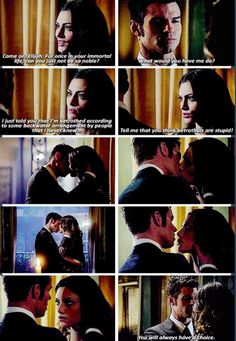 The Originals. Sooo i'm coming around to the whole Elijah and Hayley thing..