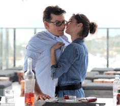 Charlie Sheen and 'adult film actress' Georgia Jones in Cabo