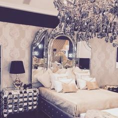 Extravagant bedroom
