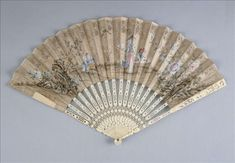 Fan, 18th century fanci fan, hand fan