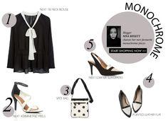 How to wear monochrome #ezibuyblog
