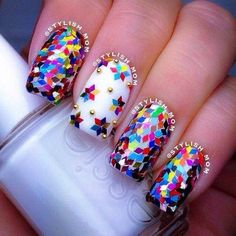 30 Fashionable Nail Art Design Spring – Summer 2014   World inside pictures