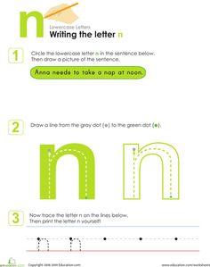 write lower case letters