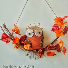 Cute Owl Craft from: http://plumperfectandme.blogspot.com/2013/10/recycled-bottle-owl.html