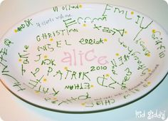 Teacher Appreciation Keepsake Plates #kidgiddy #teacher #keepsake