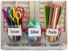 Great Ideas -- 37 DIY Organizing Ideas!!