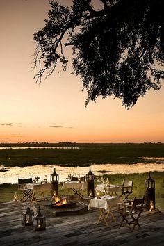 Zarafa Camp, Okavango Delta, Botswana.