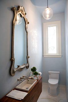narrow vanity