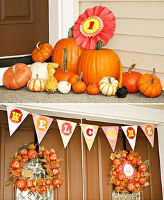 """Adorable """"Sweetie Pie"""" County Fair {Fall Themed First Birthday}"""