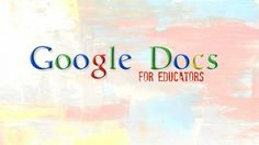 Google Docs and Drive for Educators - Learn how to develop, share, and collaborate in a connected classroom with these free tools from Google! - Free