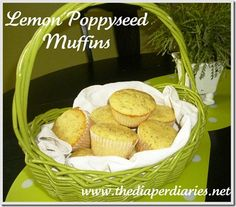 Muffins are an office favorite! Mix up a batch of your own Lemon Poppyseed Muffins and share them with the entire team! *CC